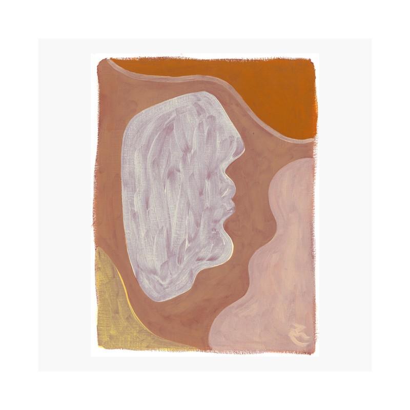 Petite huile portrait